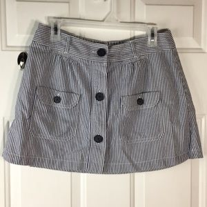 American Eagle Outfitters button down stripe skirt